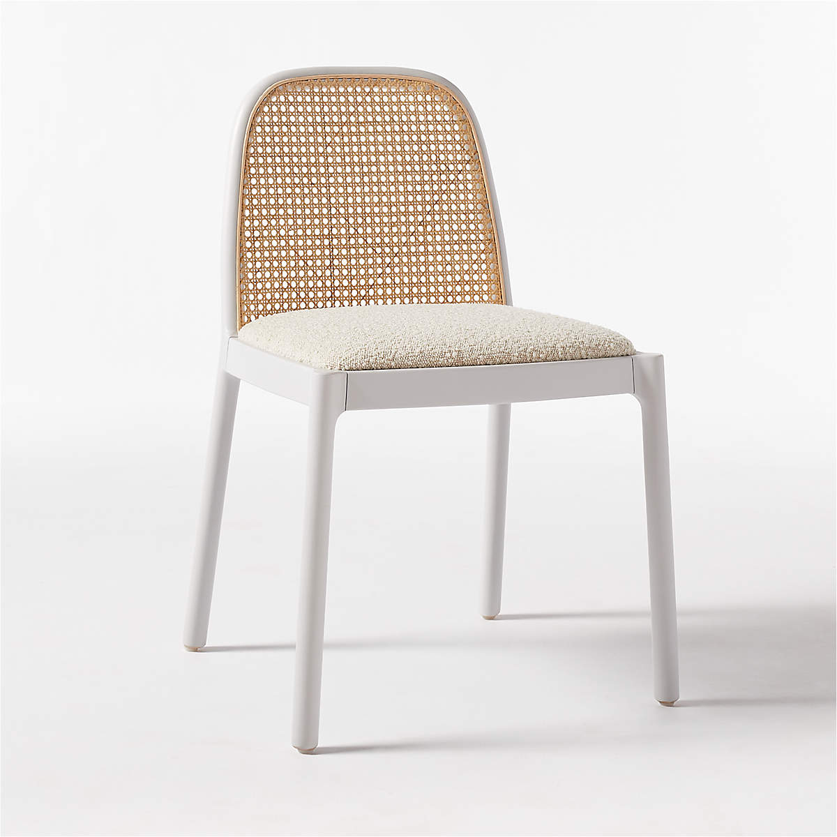 NADIA WHITE CANE CHAIR RESTOCK Early August 2021