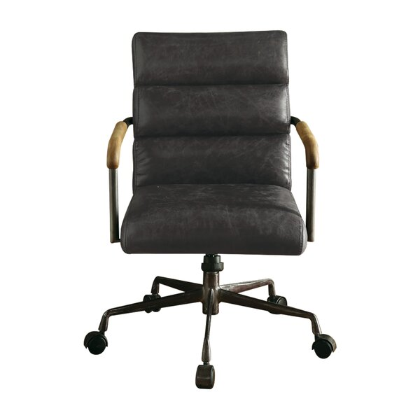 Sophia Genuine Leather Conference Chair