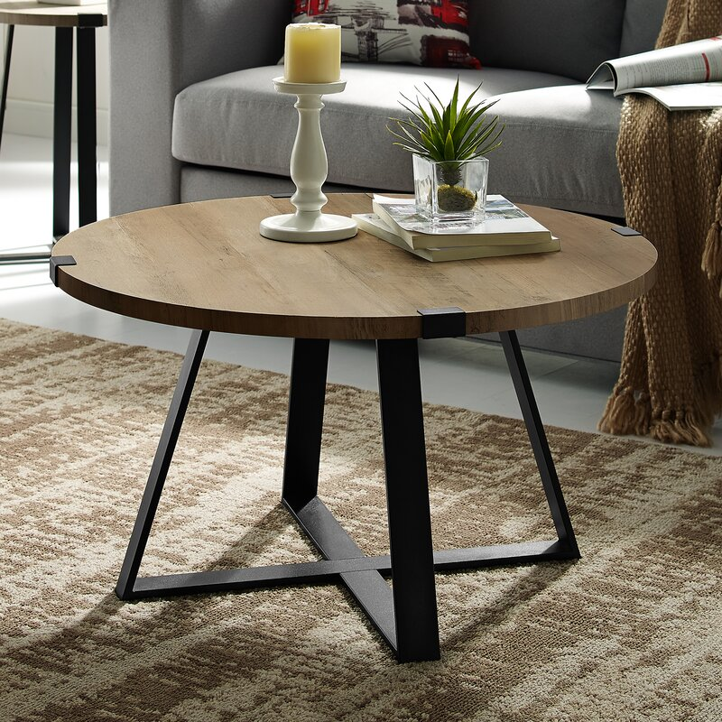 Enrique Cross Legs Coffee Table