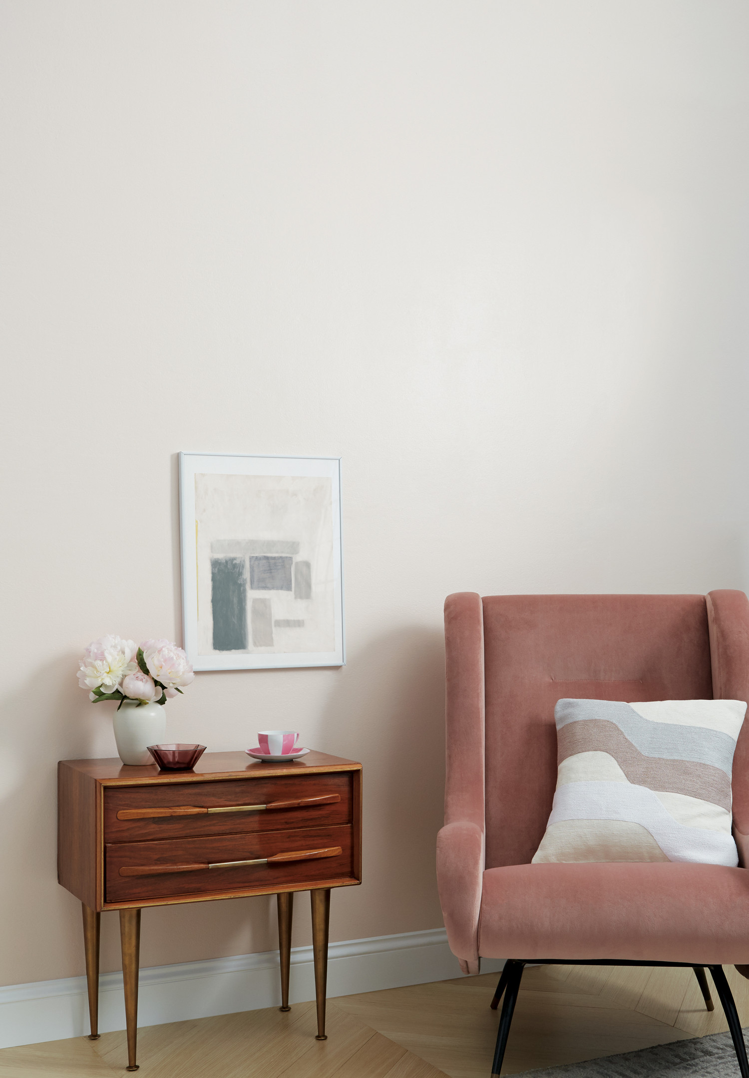 Clare Paint - Wing It - Wall Swatch