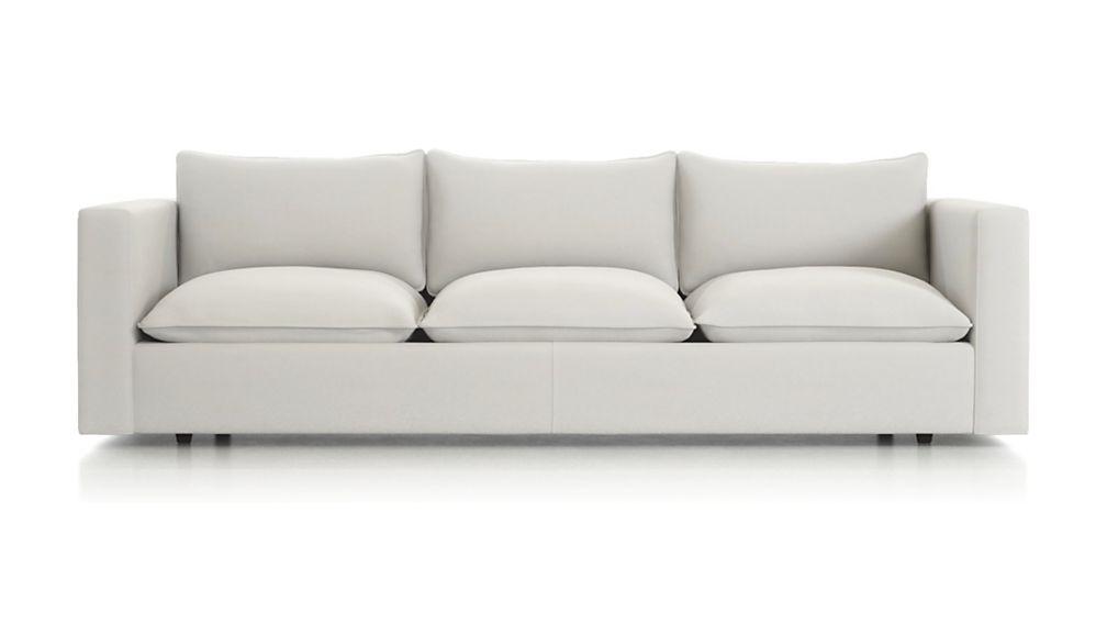 """Lotus 109"""" Low Grande Sofa"""
