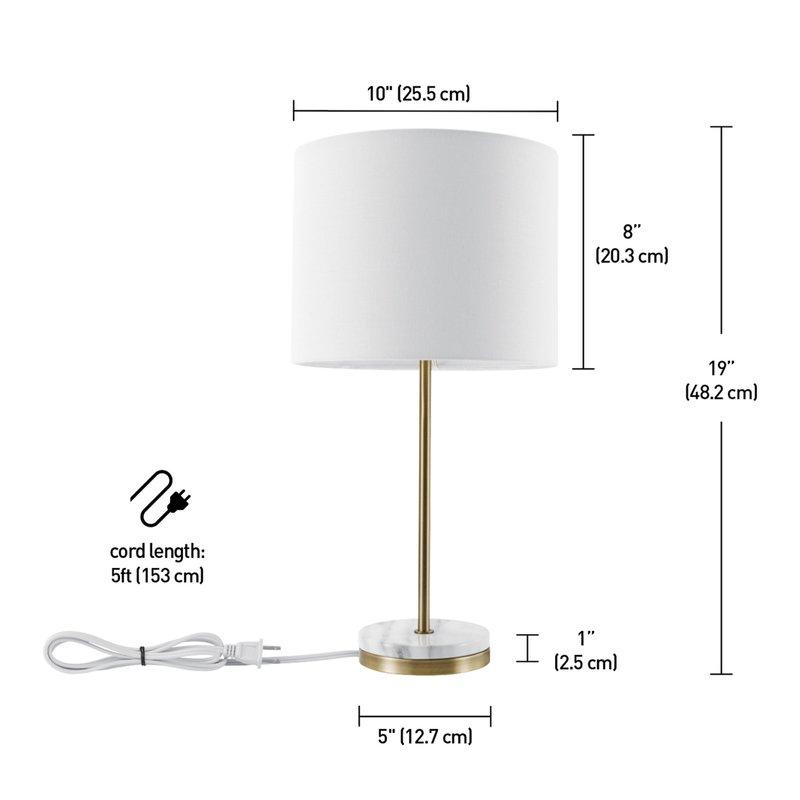 "Polonskaya 19"" Table Lamp"