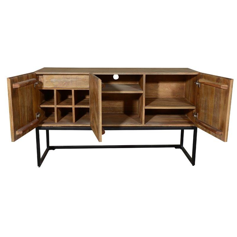 Wageningen Storage Buffet Table with Winerack