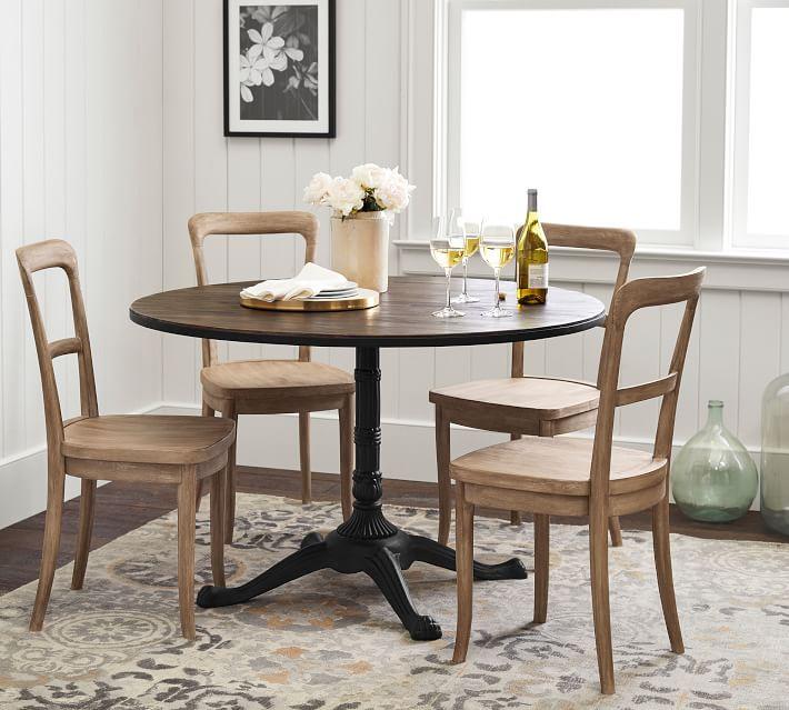 Rae Bistro Table, Rustic Wood