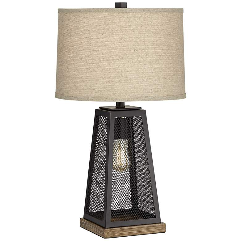 Barris Metal USB Table Lamp with LED Night Light - Style # 46C76