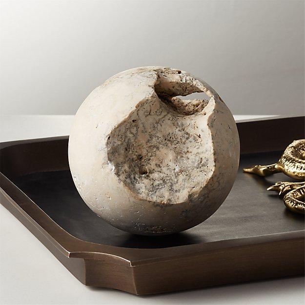 Limestone Sphere