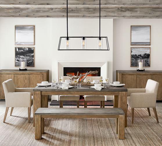 Brooks Dining Table, Seadrift