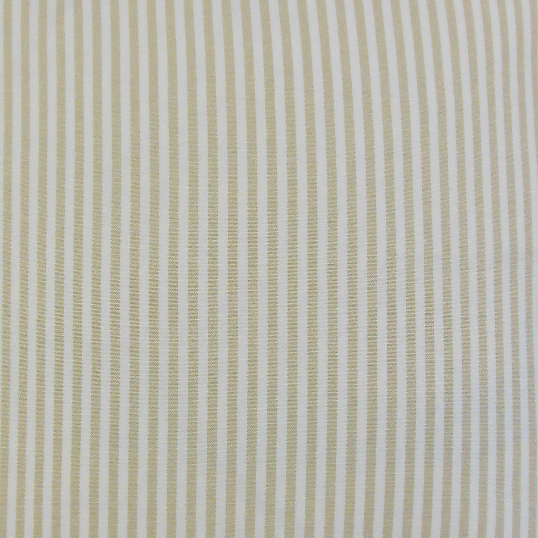 "Classic Stripe Pillow, Beige, 18"" x 18"""