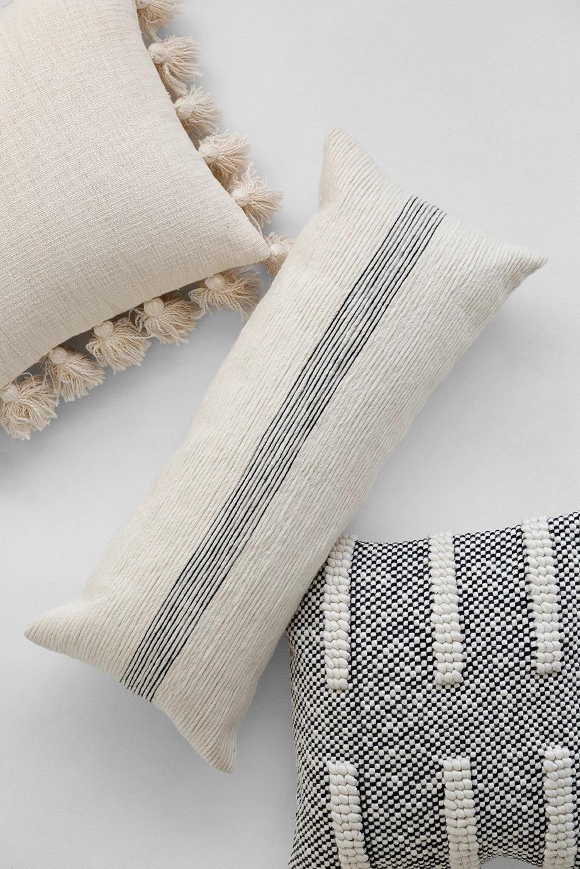 """Burton Lumbar Pillow Cover, 30"""" x 12"""""""