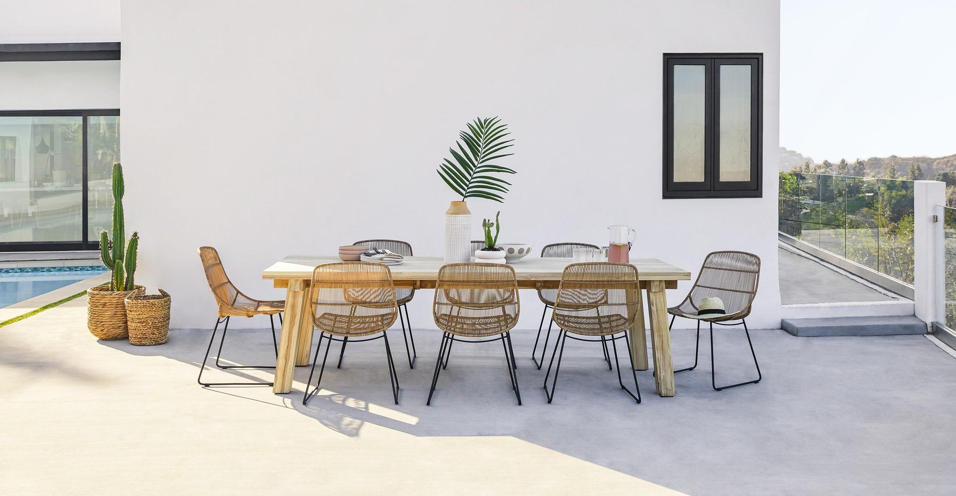 Teaka Dining Table