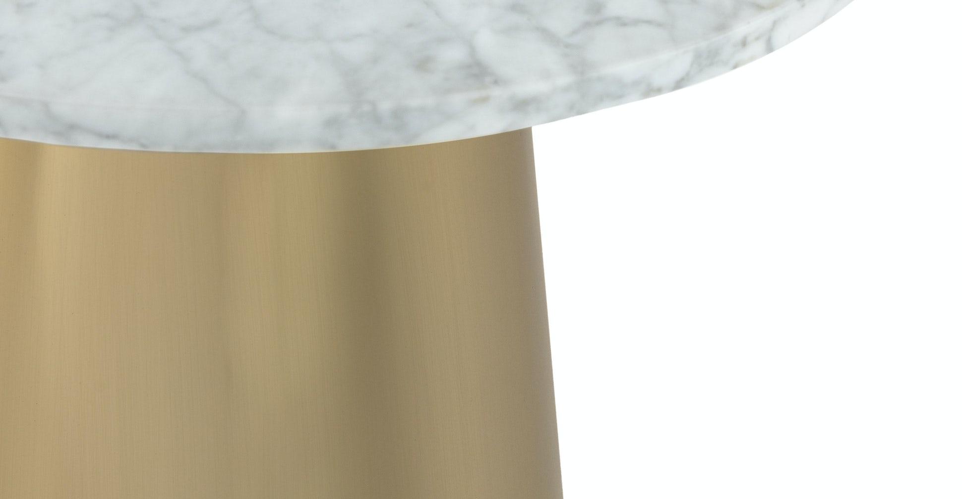 Tromso Brass Side Table