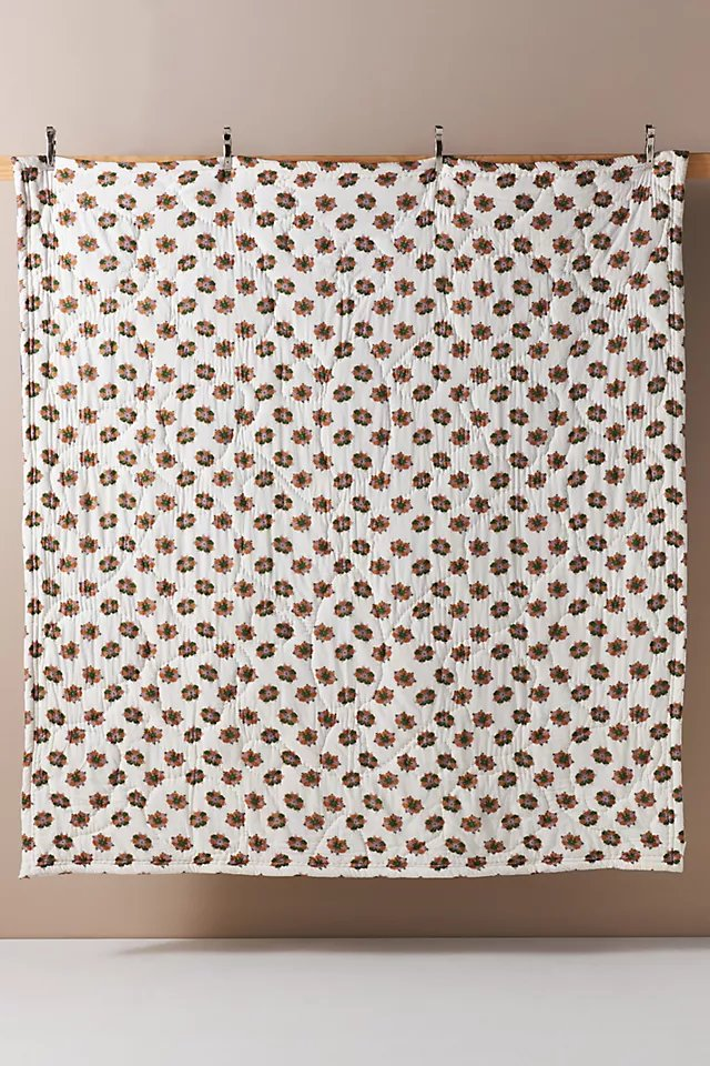 Gertrude Quilt By Artisan Quilts by Anthropologie in Assorted, Size Q top/bed