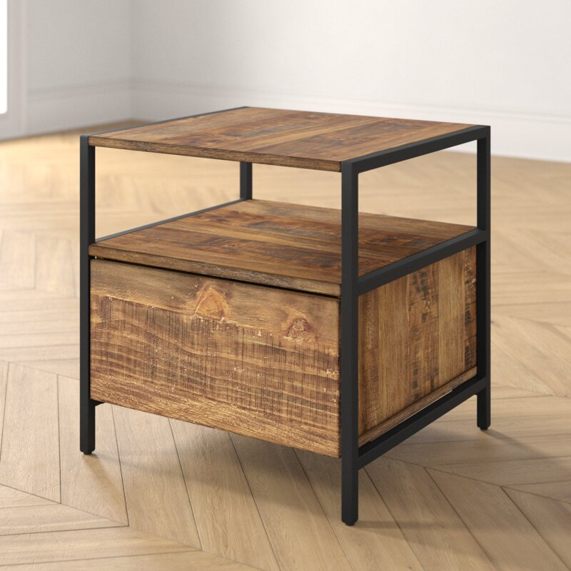 Caroline End Table with Storage