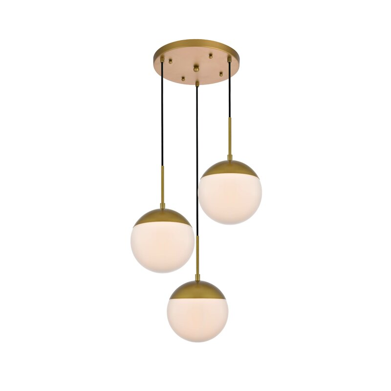 Yearby 3 - Light Cluster Globe Pendant