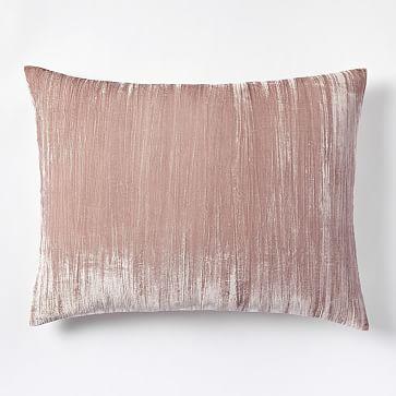 Crinkle Velvet Standard Sham, Dusty B