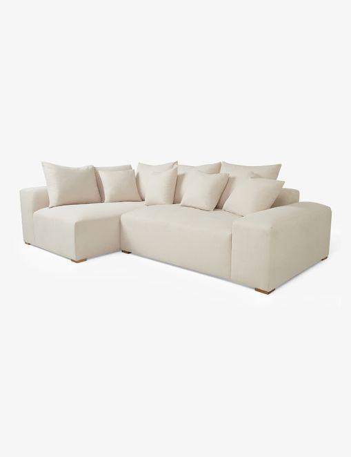 Clayton Left-Facing Sectional Sofa