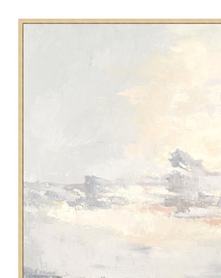 COASTAL SUNSET Framed Art