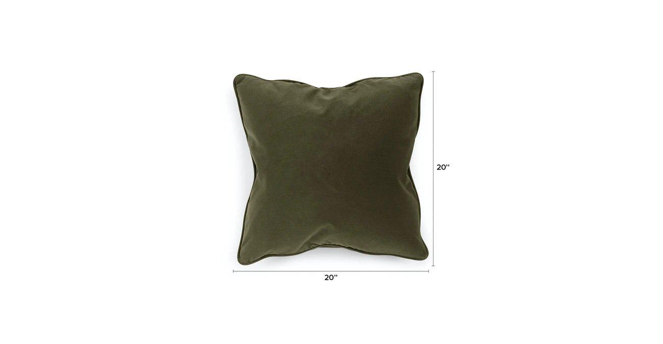 Lucca Juniper Green Pillow Set