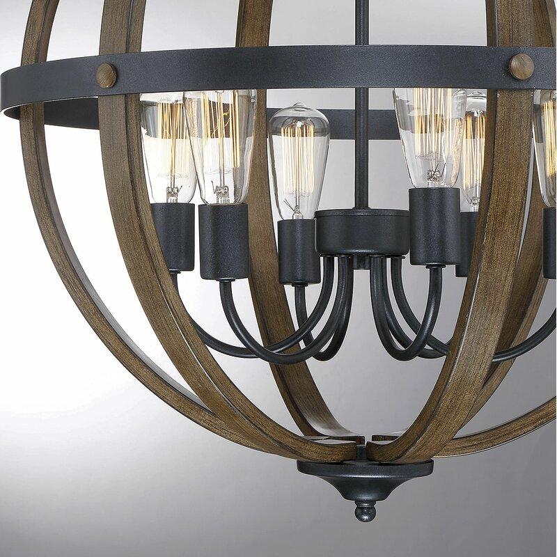 Karter 6-Light Globe Chandelier