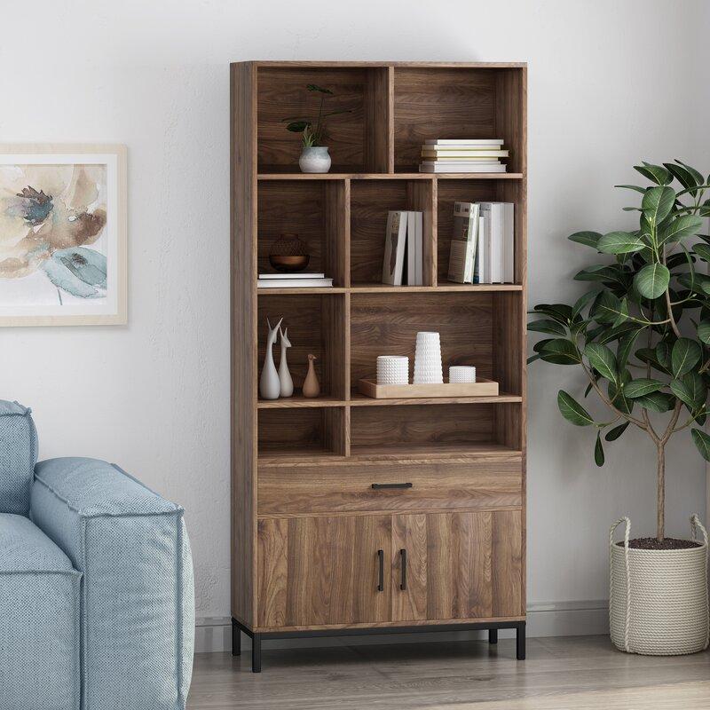 Westlund Faux Wood Standard Bookcase