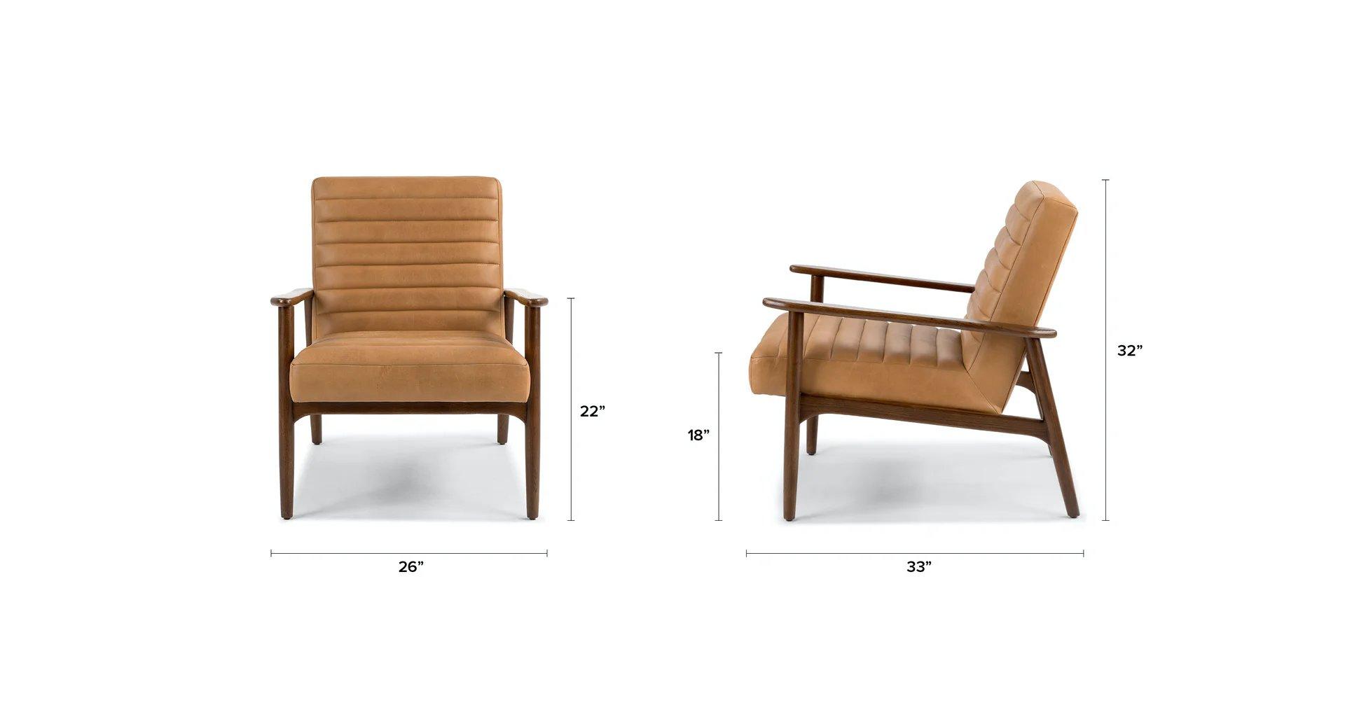 Thetis Charme Tan Chair