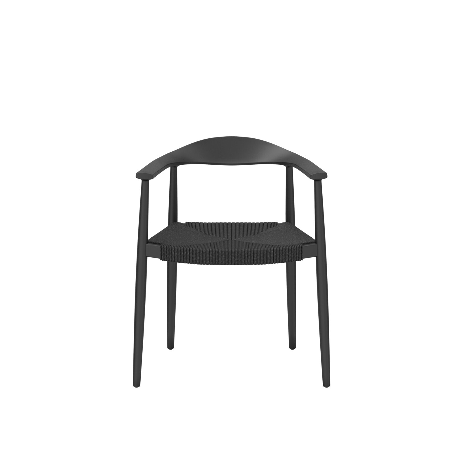Milam Wishbone Wooden Guest Chair by Etc.