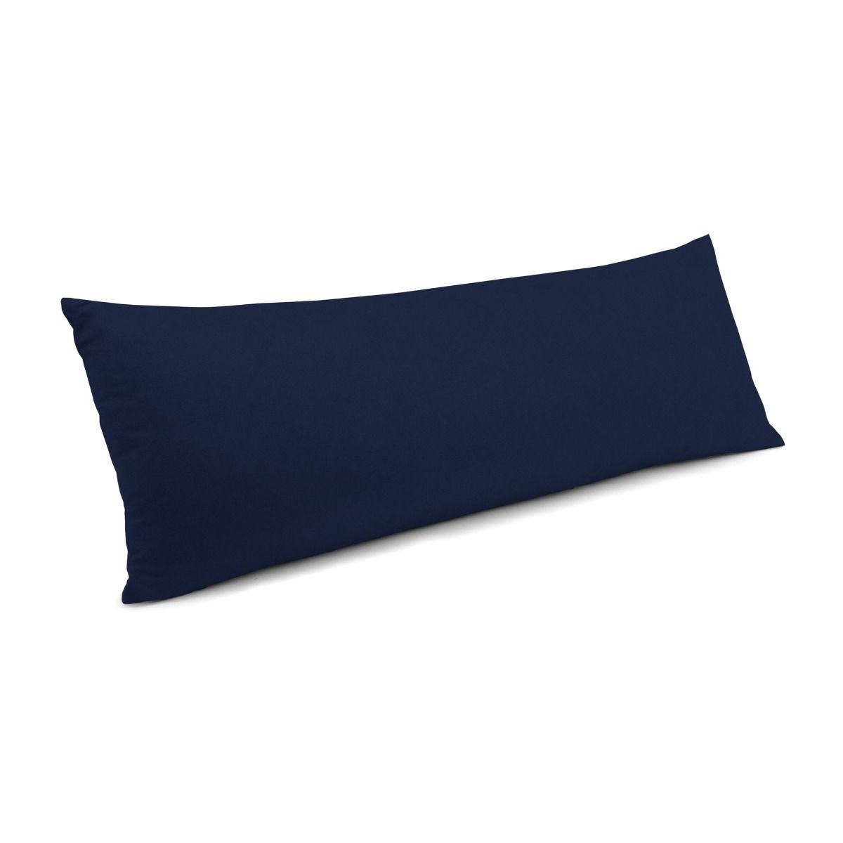 "Classic Velvet Pillow, Navy, 12"" x 18"" Lumbar"