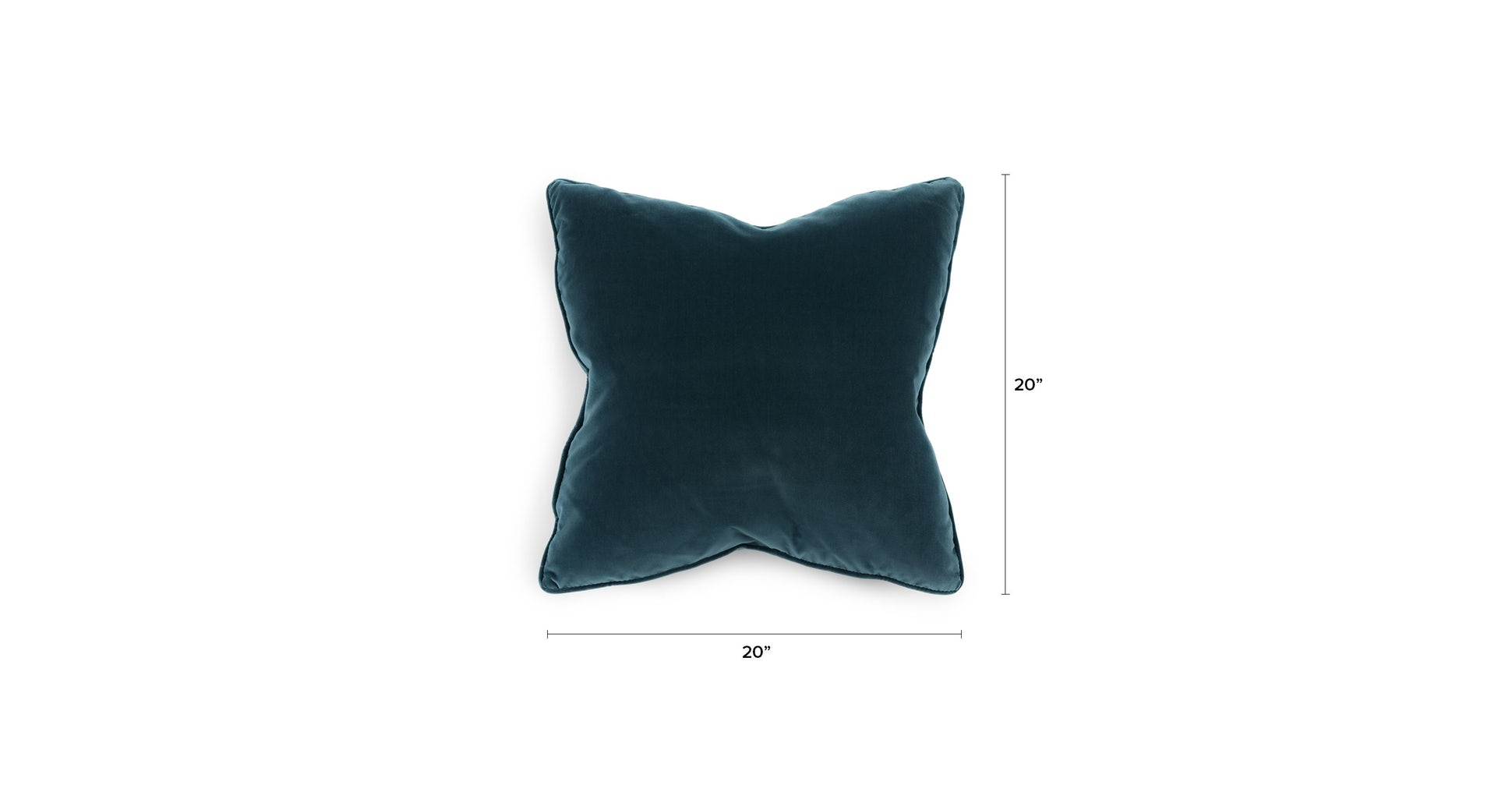 Lucca Pacific Blue Pillow, Set of 2