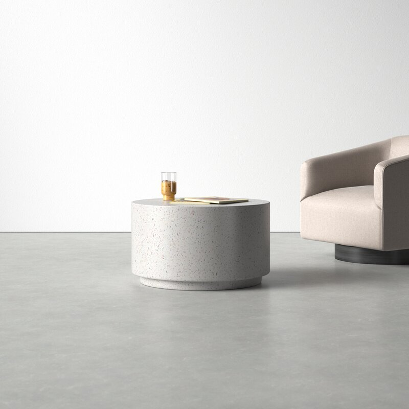 Degraw Drum Coffee Table