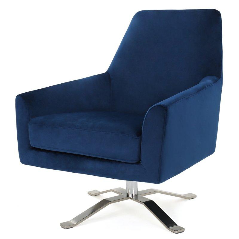 "Edmund Swivel 22"" Armchair"