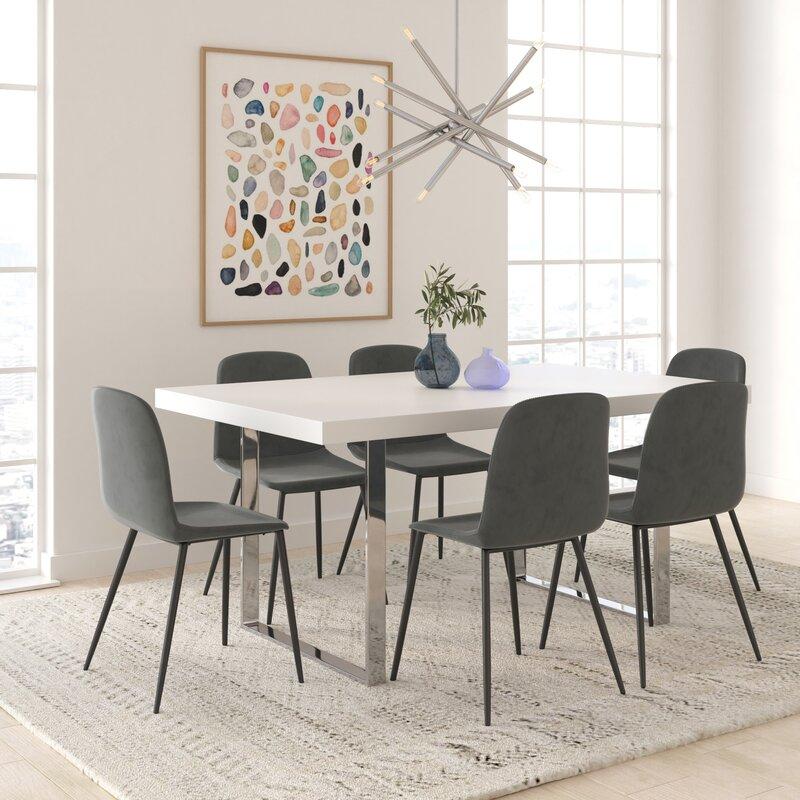 Larissa Velvet Upholstered Side Chair (Set of 2)