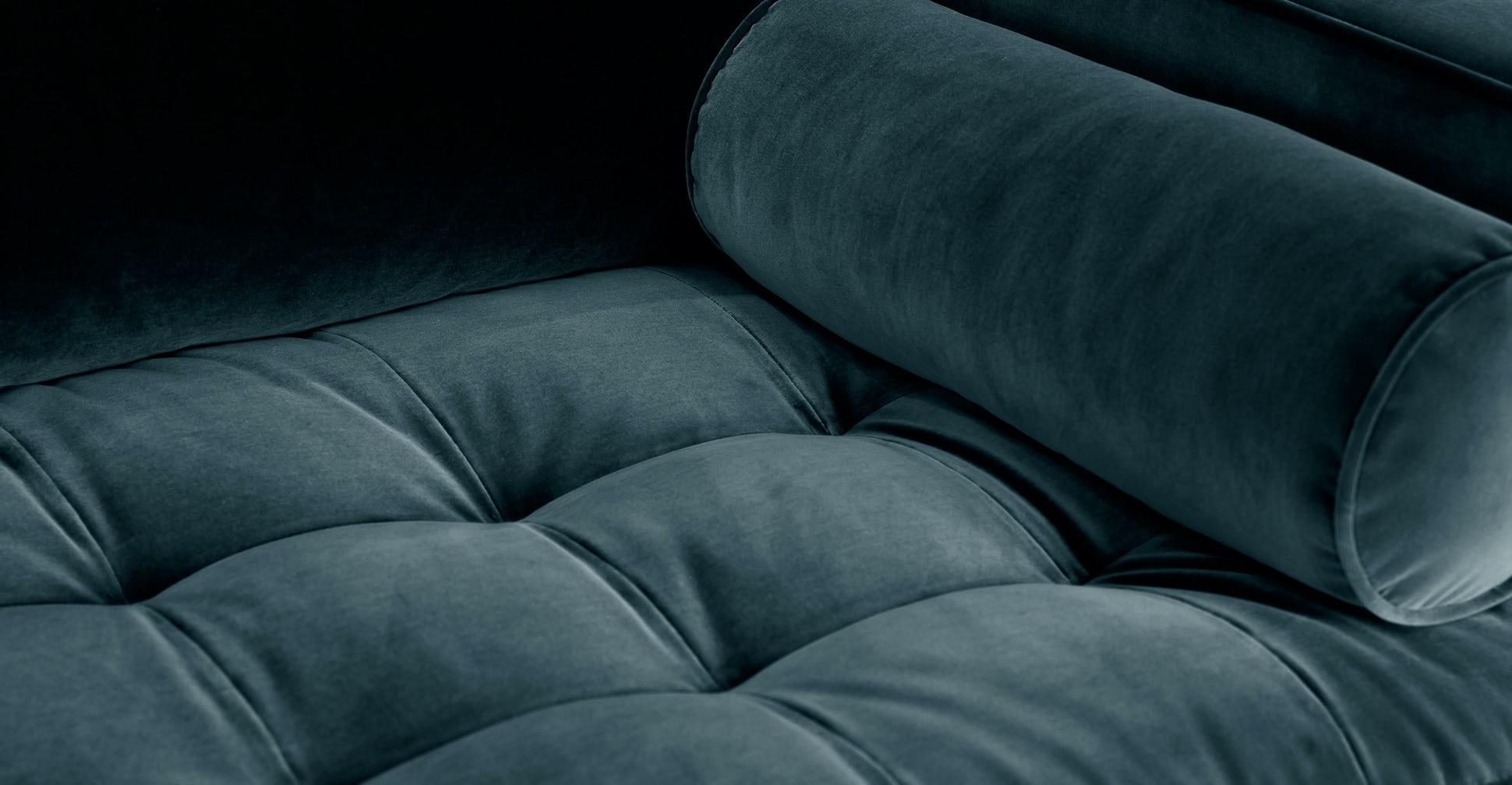 "Sven Pacific Blue 72"" Sofa"