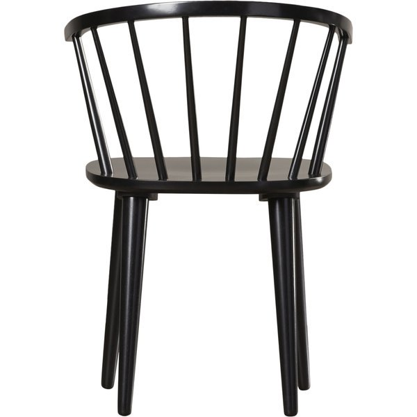 Alberta Side Chair - Black (Set of Two)