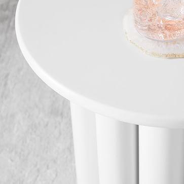 Hera Side Table, Semi-Circle