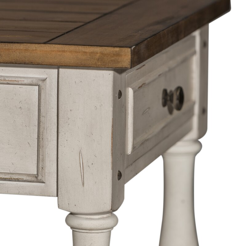 Belle Meade Solid Wood End Table with Storage