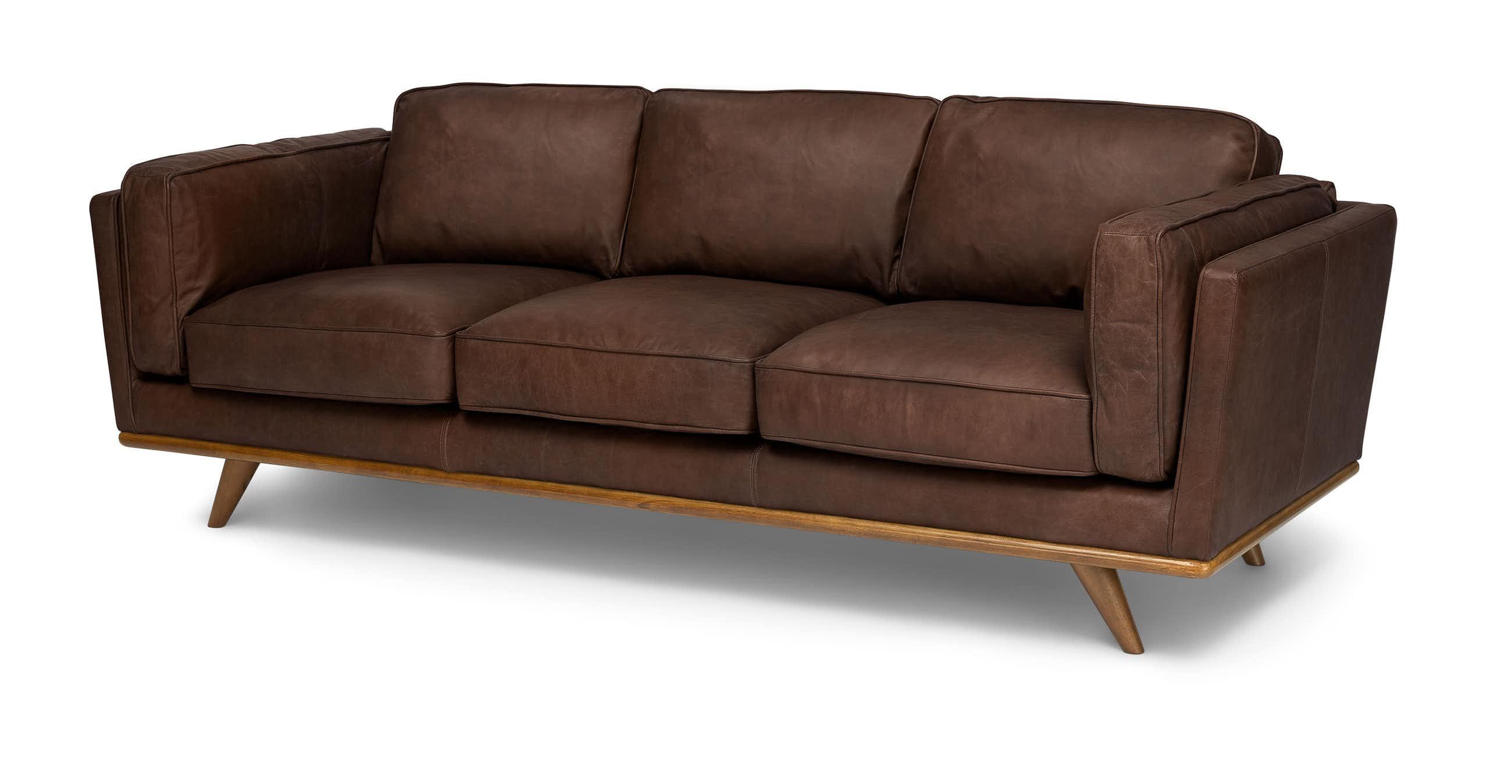 Timber Charme Chocolat Sofa