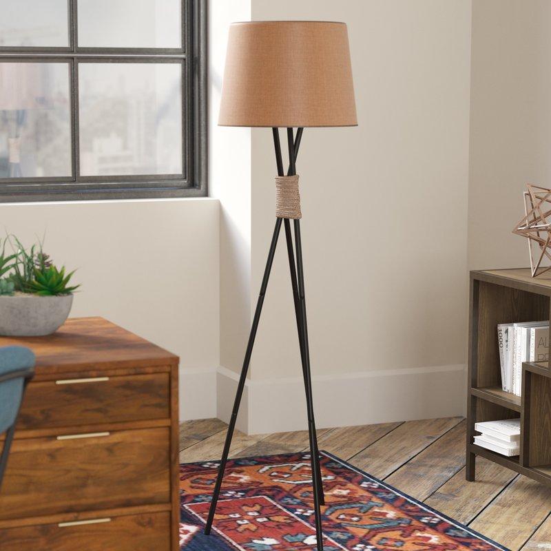 "Newnan 58.5"" Tripod Floor Lamp"