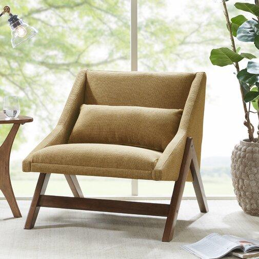 William Lounge Chair- Mustard Yellow