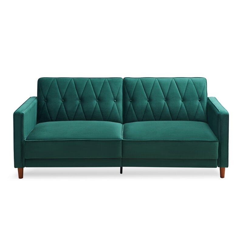 "Prufrock 78.5"" Square Arm Sofa"