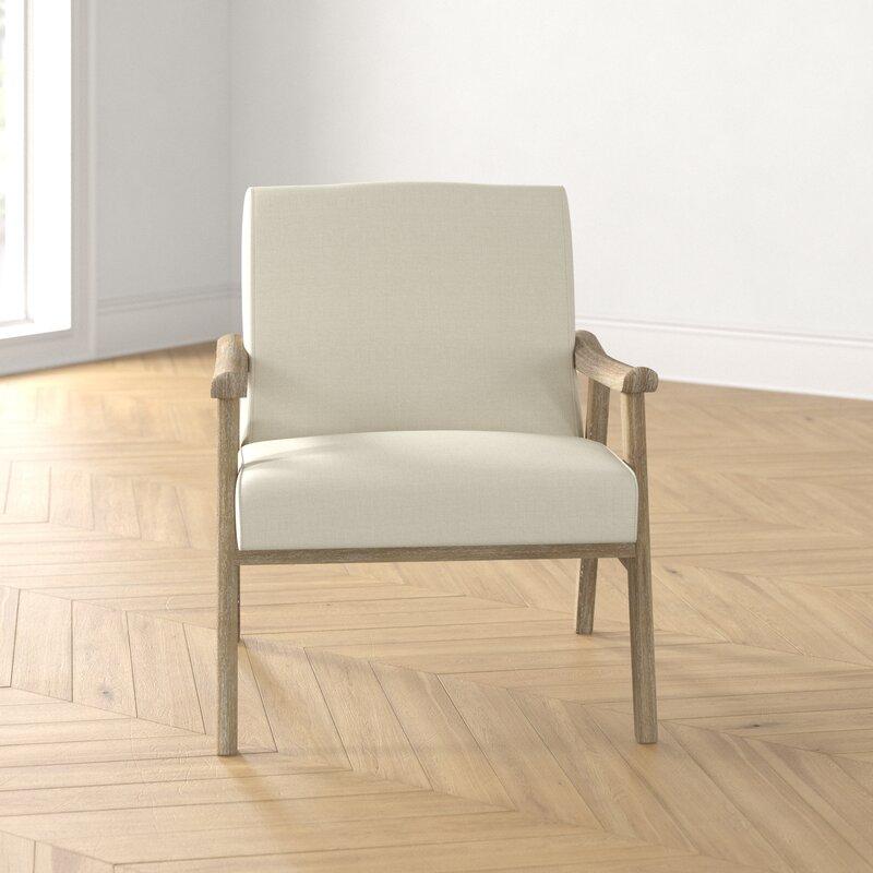 "27.5""W Lounge Chair -  Linen"