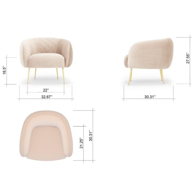 Devers Velvet Chair