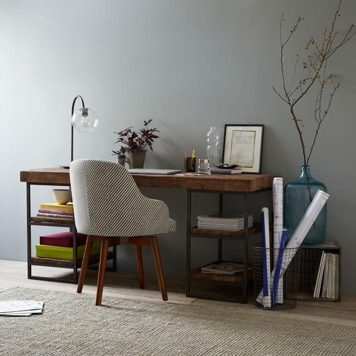 Hewn Wood Desk