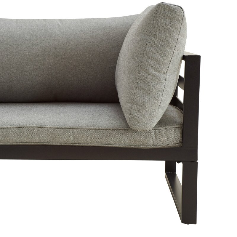 Ingwald 5 Piece Sofa Seating Group with Cushions
