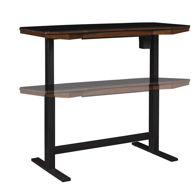 Tedford Adjustable Glass Standing Desk