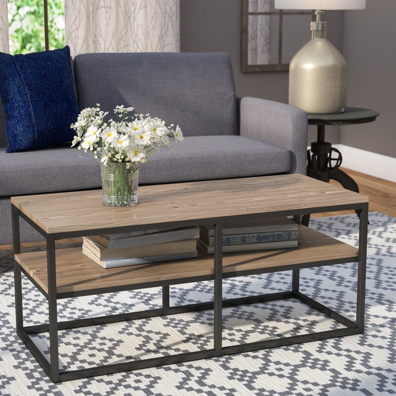 Forteau Frame Coffee Table with Storage