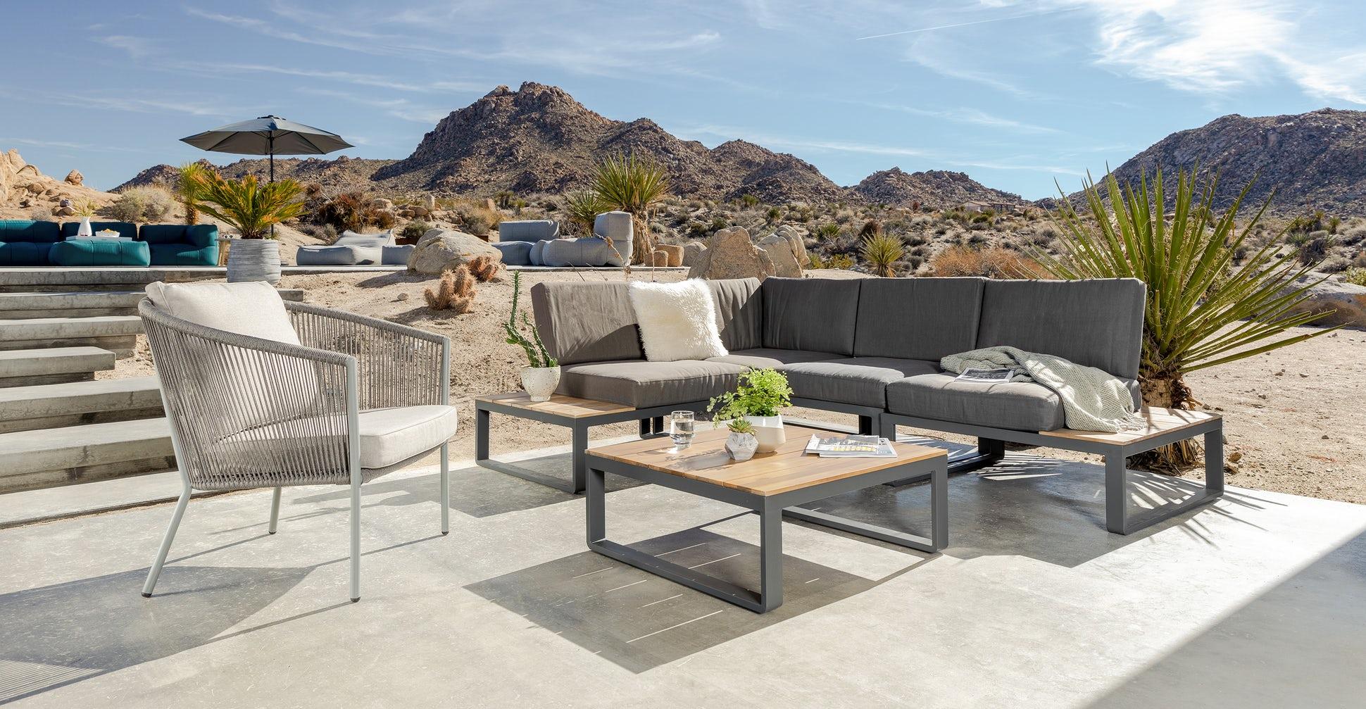 Corda Outdoor lounge chair beach sand