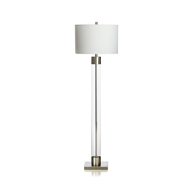 Avenue Nickel Floor Lamp
