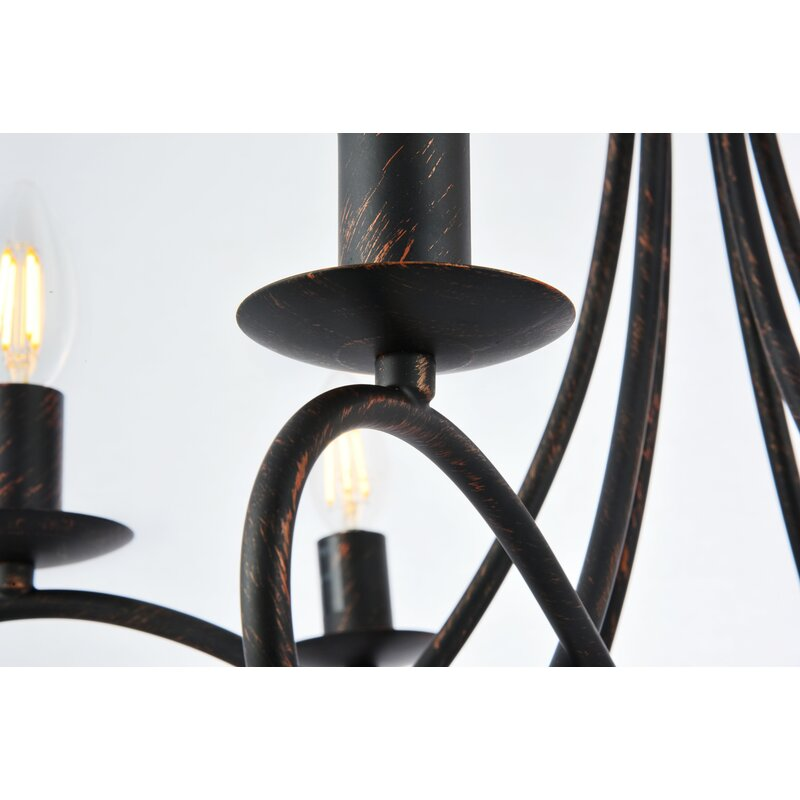 Macarthur 6 - Light Candle Style Classic / Traditional Chandelier
