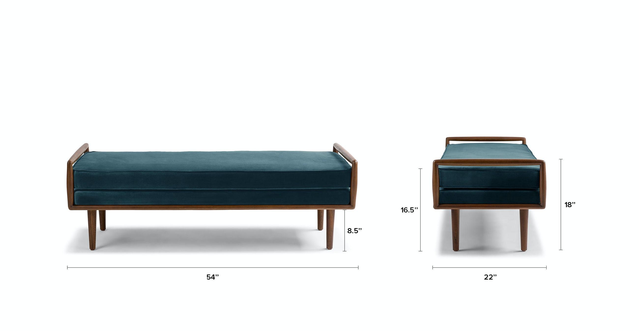 Ansa Pacific Blue Bench