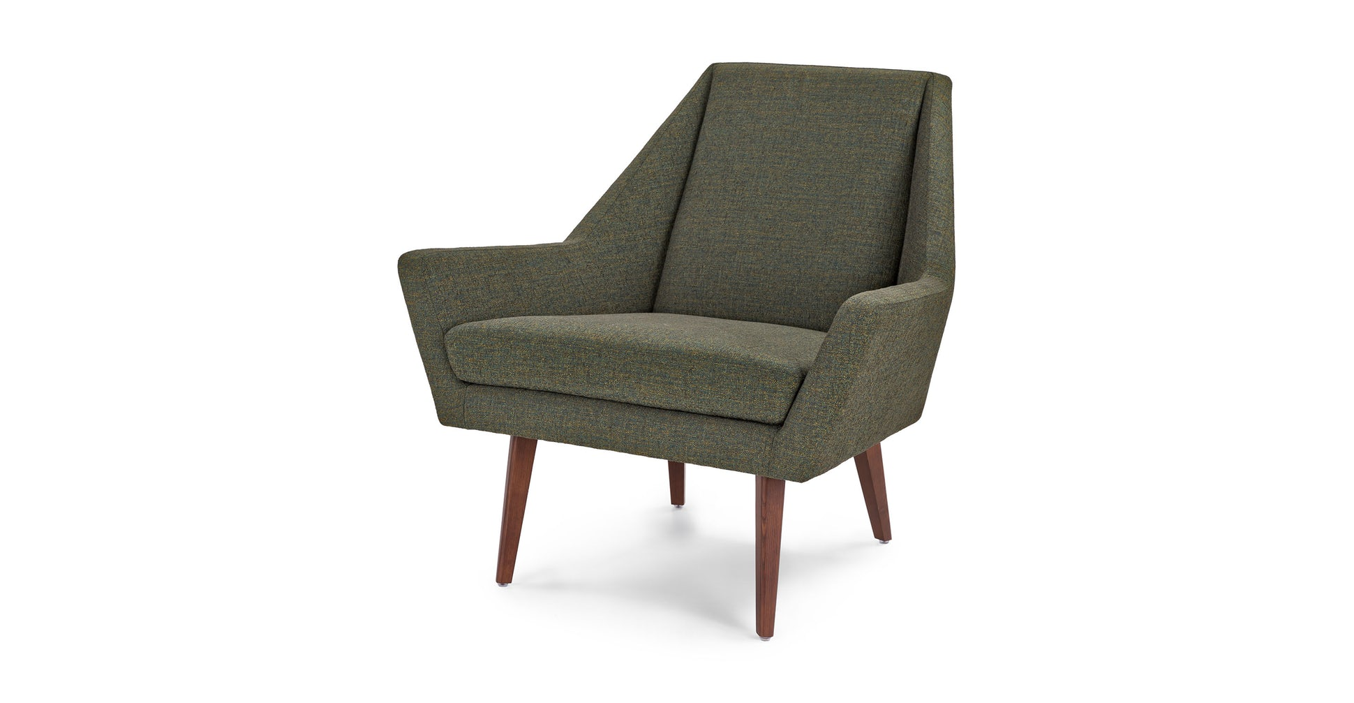 Angle Hemlock Green Chair